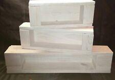 3 Holzregale ,Regal,Wandregal, Handarbeit aus Paletten, shabby shic
