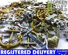 Steampunk ANCHORS Set 85 gr - Jewelery Making - Beads, Charm and Pendant