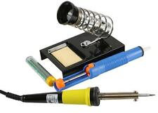 DURATOOL Soldadura Starter Kit Con Soporte De Hierro-bomba de soldadura-desoldar