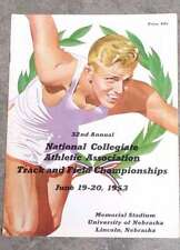 NCAA COLLEGE TRACK and FIELD CHAMPIONSHIPS PROGRAM - 1953 - EX+/NM