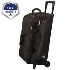 Ebonite Transport Black 3 Ball Roller Bowling Bag