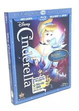 Cinderella (Blu-ray+DVD, 2012; Diamond Ed.) NEW with Slipcover OOP 💯 Authentic