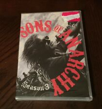 Sons of Anarchy: Season Three 3 Third (DVD, 2011, 4-Disc Set) Sealed NEW