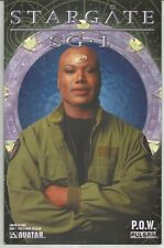 Stargate SG-1 #1 : Limited edition Teal'c Cover : February 2004 : Avatar Comics