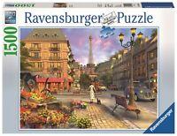 PUZZLE DE 1500 PIEZAS RAVENSBURGER 16309 VINTAGE PARIS - Puzzle Vintage Paris