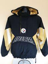 Vintage NFL Pittsburg Steelers Pro Line Starter Pullover Coat Size M