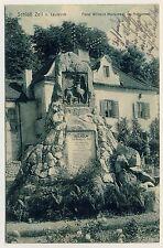 LEUTKIRCH Schloss Zeil / Monument im Hofgarten Fürst Wilhelm / Adel * AK 1908