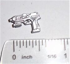 GI Joe Accessory  2009 Scrap-Iron V8        Silver Pistol Laser gun