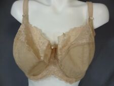 PANACHE 7285 Underwire Non-Padded Lace Sheer Balconette Bra UK/USA size 34H