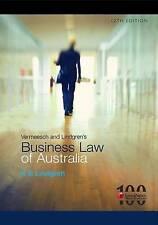 Vermeesch and Lindgren's Business Law of Australia by K.E. Lindgren (Paperback, 2011)