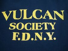 FDNY Vulcan Society T- Shirt NYC New York Fire Department African American 2XL