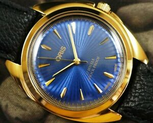 SWISS MADE GP CASE HAND WINDING MEN'S USED OLD WATCH / WORKING / SERVICED -14608