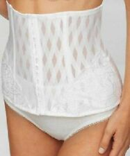 MISS MARY OF SWEDEN WAIST CINCHER SLIMMING BRIDAL CORSET WHITE SIZE 12 - 30