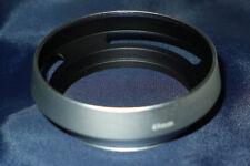 49 Mm Argent Plastique Ventilé Lens Hood pour Télémètre Caméra