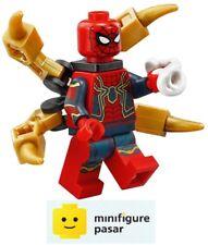 sh510 Lego Marvel Avengers Infinity War 76108 - Iron Spider-Man Minifigure - New