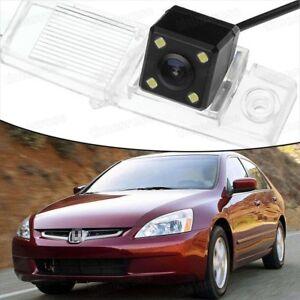 4 LED CCD Rearview Camera Reverse Parking Backup for 03-07 Honda Accord Sedan