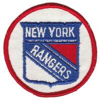 "1970'S NEW YORK RANGERS NHL HOCKEY VINTAGE 3"" ROUND TEAM PATCH"