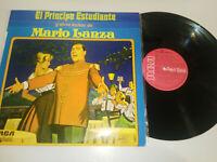 """Mario Lanza El Prinz Student exitos - Spanisch Edition LP 12 """" vinyl VG/VG"""