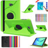 360 Rotatable Leather Stand Case Skin For Samsung Galaxy Tab A 9.7 T550 T551/555