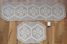 Antike Tischwäsche im Landhausflair-Stil mit Handarbeit aus Baumwolle