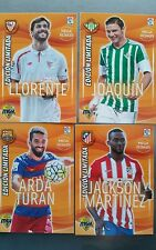 MEGA CRACKS  2015/16  EDICIÓN LIMITADA CARD liga PANINI LOTE 4 PACK