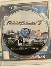 Ridge Racer 7 (Sony PlayStation 3, 2006) Disc Only