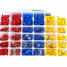 480×Car Audio Electrical Wire Connectors Terminals Crimp Insulated 3-Colors Kits