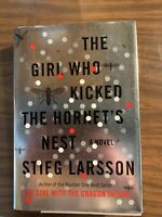 """2010 1st US Edition of """"The Girl Who Kicked the Hornet's Nest"""" by Stieg Larsson"""