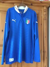 Italy Football Shirt Home For Men Size L Puma