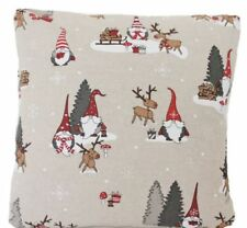 Christmas 100% Linen Decorative Cushions