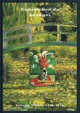 Senegal 1999 Art Painting Monet La Japonaise MNH**
