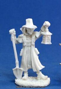 1 x CROQUE MORT - BONES REAPER figurine miniature jdr undertaker villager 77143