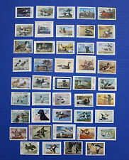 U.S.  1989 State Duck Stamp Collection - 44 MNH stamps