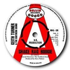 "KEITH TURNER & SOUTHERN SOUND- ""SHAKE RAG BOOGIE"" 45 - BLUES BOPPER SUPREME!"