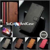 Etui Coque Premium Qualité Cuir PU Leather case Xiaomi Redmi Note 8, 8T ou 8 Pro