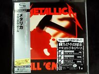 Metallica - Kill 'Em All Japan SHM-CD Mini LP OBI Brand New UICY-94662