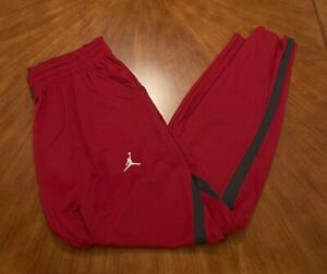 NWT Nike Jordan Oklahoma Sooners Team Issued Sweat Pants - Men's Large