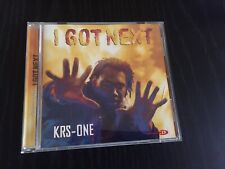 KRS-ONE I GOT NEXT CD Jive Records 1997 Booklet Included