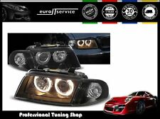 FARI ANTERIORI HEADLIGHTS LPAU11 AUDI A4 1994 1995 1996 1997 1998 ANGEL EYES