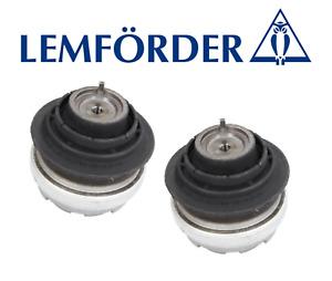 OEM Engine Motor Mount Hydraulic Set 2pcs for Mercedes-Benz Lemforder