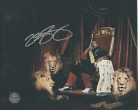 """""""King"""" Lebron James Hand-Signed L.A. Lakers RARE 8x10 Autograph Photo - With COA"""