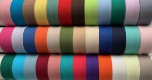 Cotton Bias Binding 25mm / 1 inch - 5m Folded Lengths - Extensive Colour Range