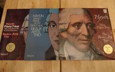 Beaux Arts Trio Haydn Piano Trios Philips 3-LP Lot