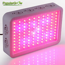PopularGrow 9 Brands 300W LED Grow Light  Hydroponic Veg Flower True Watt 138W