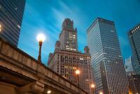 Jewelers Building Chicago Illinois Skyline Photo Art Print Poster 24x36 inch