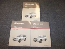 2007 Lexus LX470 SUV Workshop Shop Service Repair Manual Book Set 4.7L V8