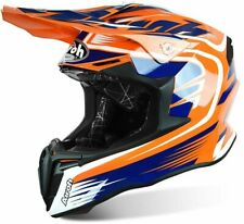 Helmet Motocross Airoh Twist Mix Orange Enduro Off Road Motard Casque