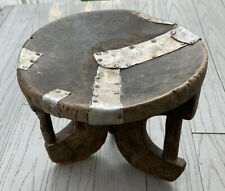 Antique African Art Tribal Carved Wood Stool
