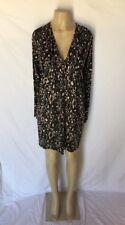 Just Cavalli Roberto Cavalli Sz EUR 42/ US 6-8 Leopard Print Jersey Shift Dress