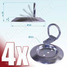 4x Zurrmulde Klappöse klappbar Aufbau 250daN zur Ladungssicherung DIN 75410-2